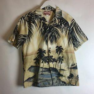 1b1483dee rjc · Men's RJC Hawaii ShortSleeve Button Up Shirt Large